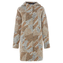 Buy White Stuff Ribble Hooded Long Sleeve Coat, Multi Online at johnlewis.com