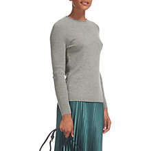 Buy Whistles Cashmere Saddle Shoulder Cashmere Knit Jumper Online at johnlewis.com