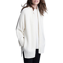 Buy Winser London Cashmere Blend Cardigan, Ivory Online at johnlewis.com