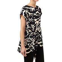 Buy Finery Abstract Animal Short Sleeve T-Shirt, Multi Online at johnlewis.com