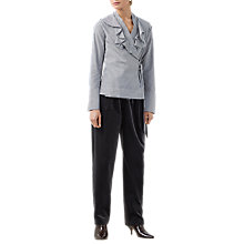 Buy Finery Mayland Frill Front Long Sleeve Shirt, Multi Online at johnlewis.com