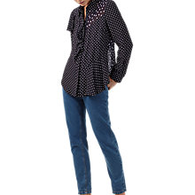 Buy Finery Salterton Polka Dot Blouse, Polkadot Online at johnlewis.com
