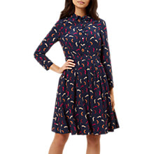 Buy Hobbs Starla Dress, Multi/Navy Online at johnlewis.com