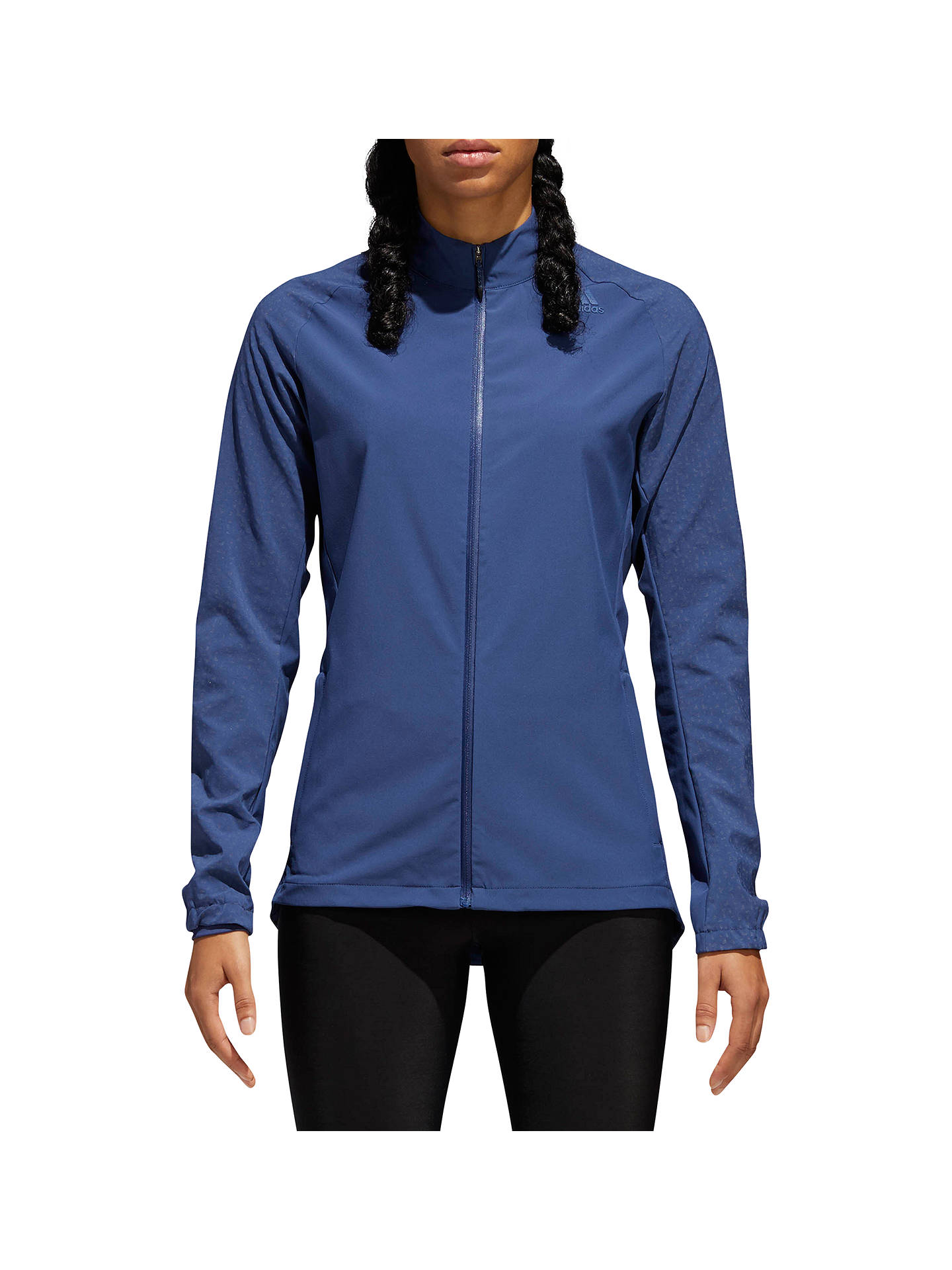 new concept factory outlet get new adidas Supernova Storm Running Jacket, Noble Indigo at John ...