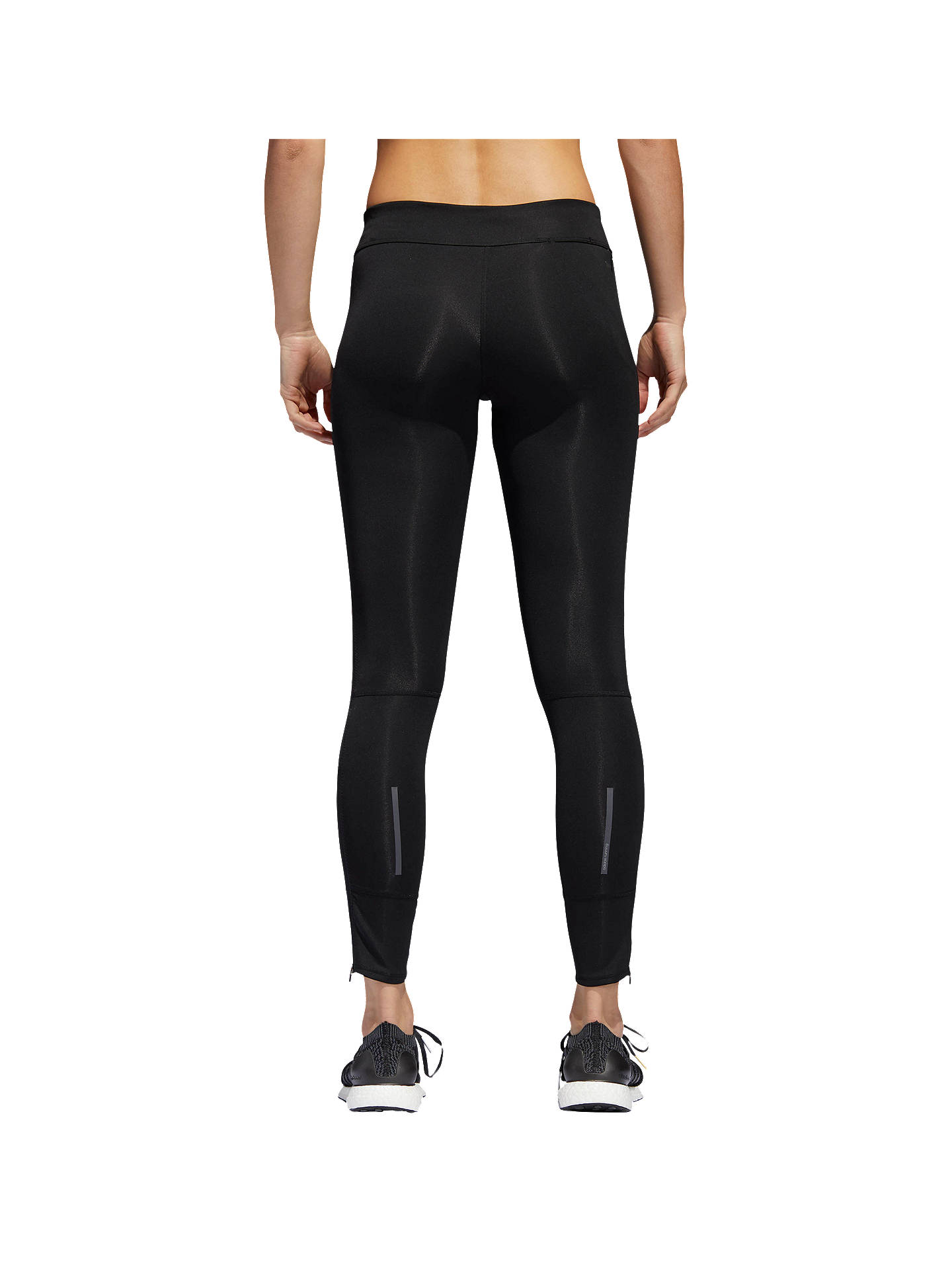 153c7b83773 ... Buy adidas Response Long Running Tights, Black, XS Online at  johnlewis.com ...