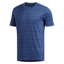 Buy adidas Supernova Short Sleeve Running Top, Noble Indigo Online at johnlewis.com