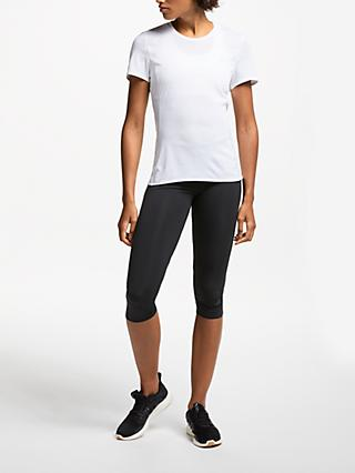 adidas How We Do 3/4 Running Tights, Black