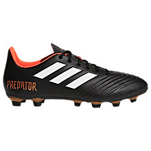 Buy adidas Predator Ace 18.4 Football Boots, Core Black Online at johnlewis.com