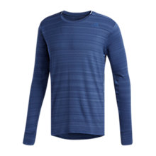 Buy Adidas Supernova Long Sleeve Running Top, Noble Indigo Online at johnlewis.com