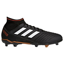 Buy adidas Predator Ace 18.3 Football Boots, Black Online at johnlewis.com