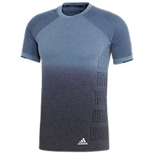 Buy Adidas Primeknit Running Top, Raw Grey Online at johnlewis.com