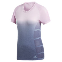 Buy Adidas Primeknit Ultrawool Running Top, Aero Pink Online at johnlewis.com