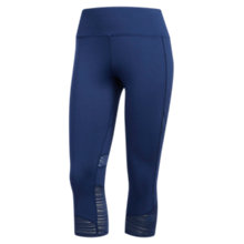 Buy Adidas How We Do 3/4 Running Tights, Noble Indigo Online at johnlewis.com