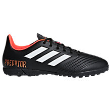Buy adidas Predator Tango 18.4 Football Shoes, Core Black Online at johnlewis.com