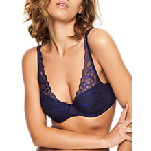 Buy Chantelle Molitor Multiway Spacer Bra, Sapphire Online at johnlewis.com