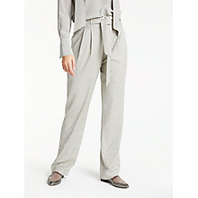 Buy Modern Rarity Tweed Paper Bag Trousers, Grey Online at johnlewis.com