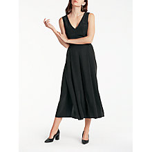 Buy Modern Rarity Silk Jumpsuit, Charcoal Online at johnlewis.com