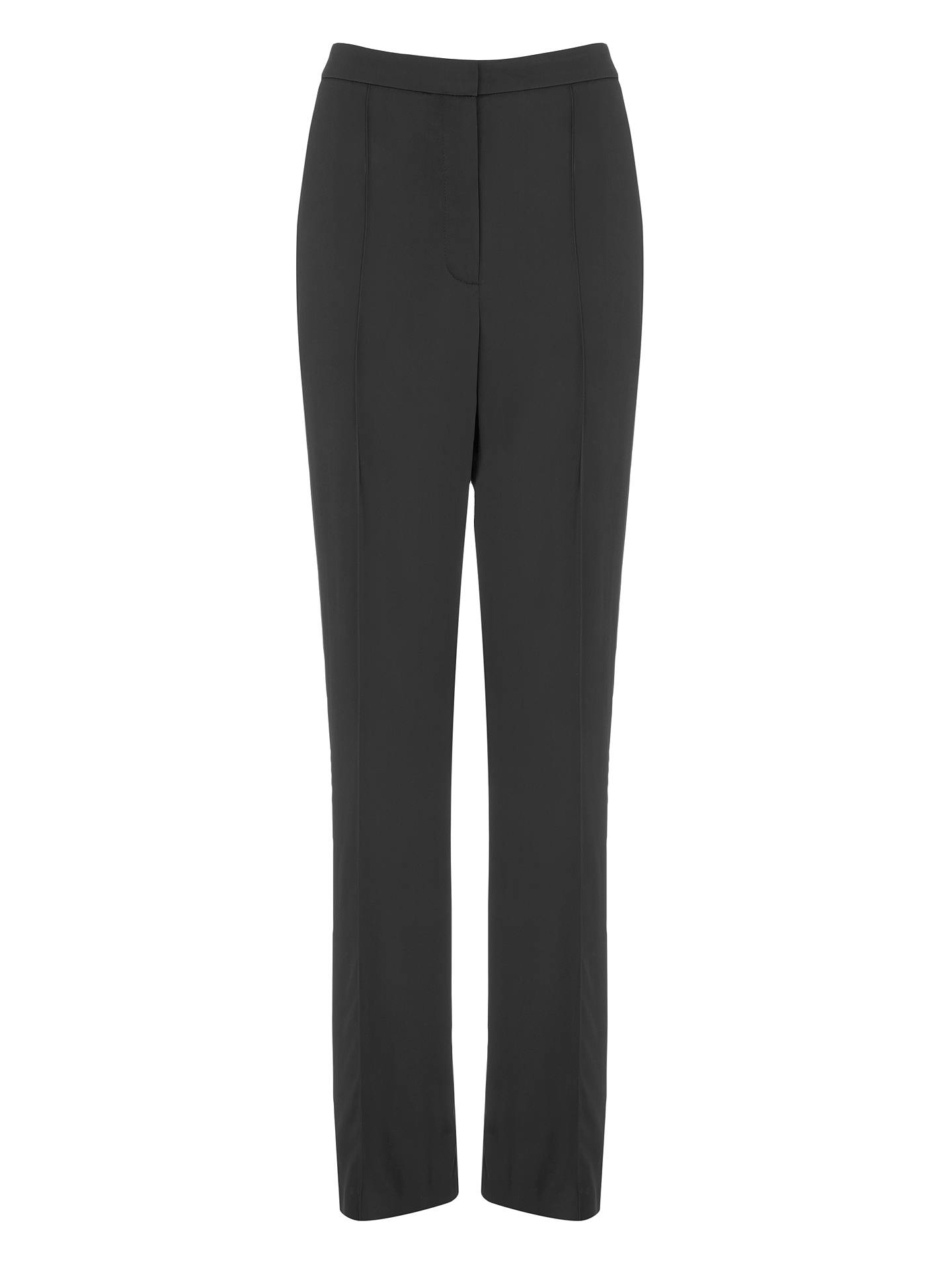 BuyModern Rarity Satin Trousers, Charcoal, 8 Online at johnlewis.com