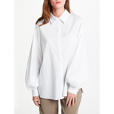 Modern Rarity Balloon Sleeve Shirt, White