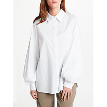 Buy Modern Rarity Balloon Sleeve Shirt, White Online at johnlewis.com