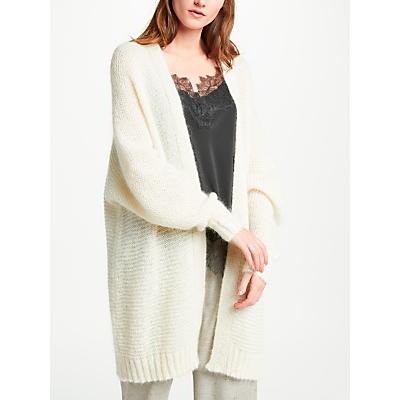 Modern Rarity Fluffy Cardigan, Cream