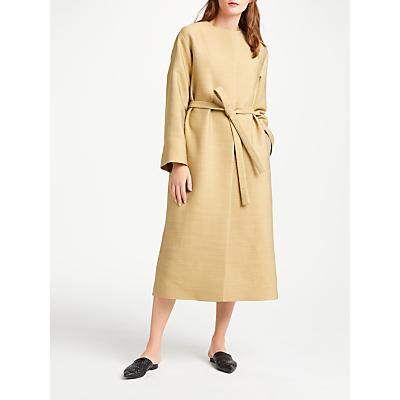 Modern Rarity Collarless Coat, Barley