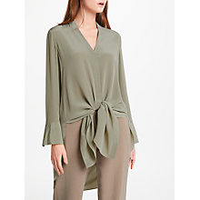Buy Modern Rarity Vee Neck Silk Blouse Online at johnlewis.com