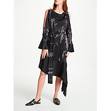 Buy Modern Rarity Eudon Choi Levine Archive Print Dress, Black Online at johnlewis.com