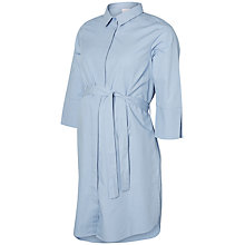 Buy Mamalicious Krista Lia 3/4 Sleeve Dress, Blue Online at johnlewis.com