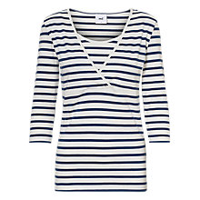 Buy Mamalicious Tess Organic Cotton Long Sleeve Top, Pack of 2 Online at johnlewis.com