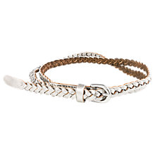 Buy Séraphine Swift Belt, Silver Online at johnlewis.com