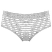 Buy Séraphine Samantha Bamboo Brief, Grey/White Online at johnlewis.com
