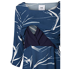 Buy Mamalicious Ashley Woven Maternity Top, Navy Online at johnlewis.com