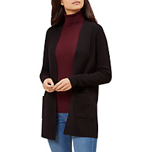 Buy Hobbs Leigh Cardigan, Black Online at johnlewis.com