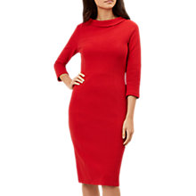 Buy Hobbs Cordelia Dress, True Red Online at johnlewis.com