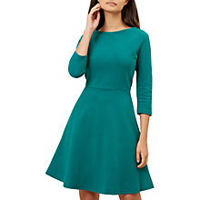 Buy Hobbs Telula Dress, Emerald Green Online at johnlewis.com