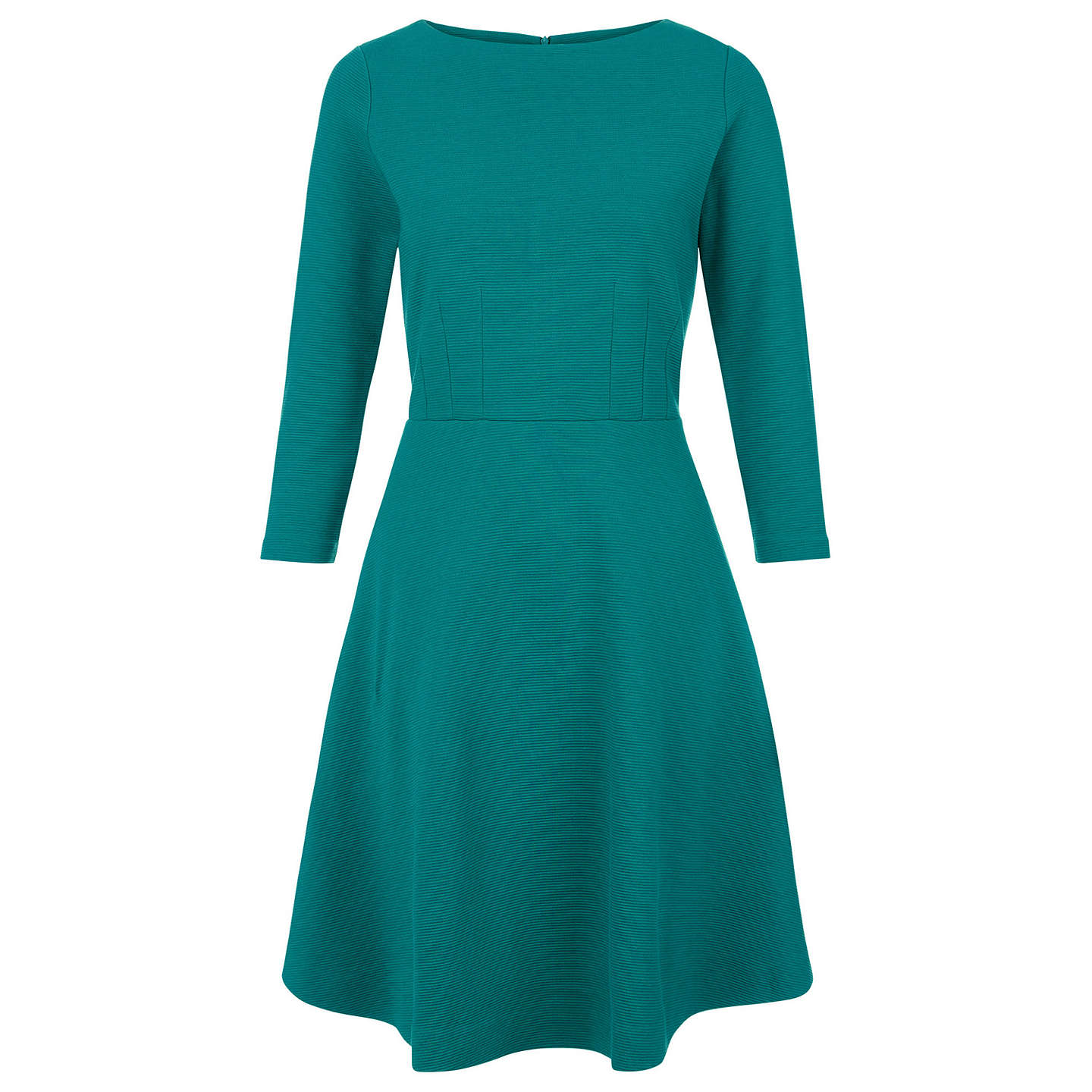 Offer: Hobbs Telula Dress, Emerald Green at John Lewis