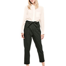 Buy Gerard Darel Sidney Wool Blend Trousers, Black Online at johnlewis.com