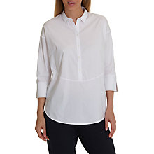 Buy Betty Barclay Long Cotton Shirt, White Online at johnlewis.com