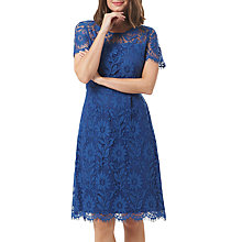 Buy Sugarhill Boutique Cecilia Lace Fit And Flare Dress, Blue Online at johnlewis.com