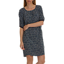 Buy Betty Barclay Speckle Print Dress, Dark Blue/Cream Online at johnlewis.com
