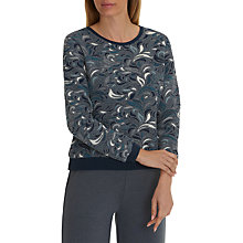 Buy Betty Barclay Tapestry Jumper, Dark Blue/Petrol Online at johnlewis.com