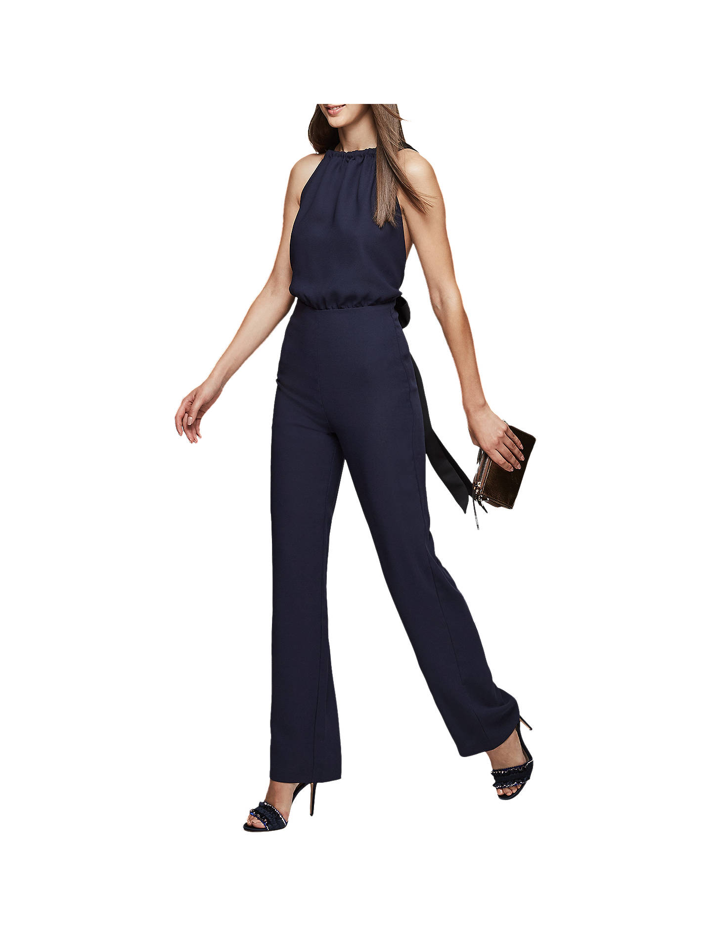a8e5d8911ab ... Buy Reiss Lolita Backless Bow Detail Jumpsuit