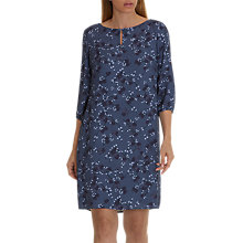 Buy Betty & Co. Floral Print Dress, Lilac/Dark Blue Online at johnlewis.com