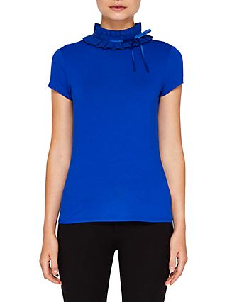 Ted Baker Ruffle Neck T-Shirt