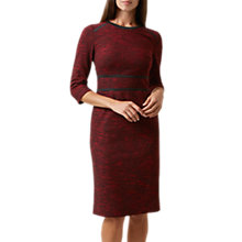 Buy Hobbs Florrie Dress, Red/Black Online at johnlewis.com