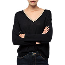 Buy Gerard Darel Liu Merino Wool Jumper, Blue Online at johnlewis.com