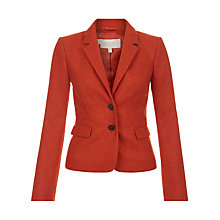 Buy Hobbs Hackness Tailored Jacket, Marmalade Online at johnlewis.com