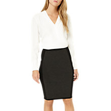 Buy Damsel in a dress Panelled Knit Skirt, Charcoal/Black Online at johnlewis.com
