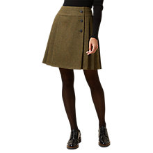 Buy Hobbs Kerys Skirt, Khaki Online at johnlewis.com